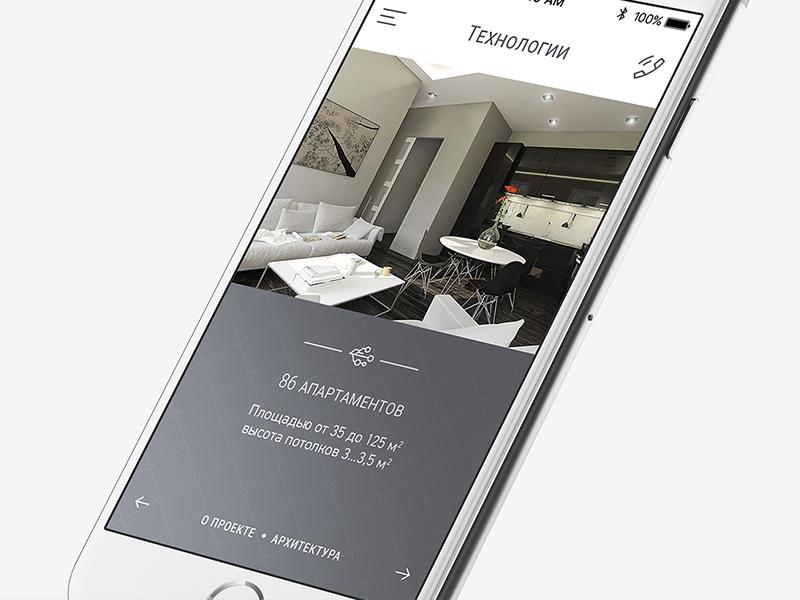 Современник. Дизайн мобильной версии сайта.