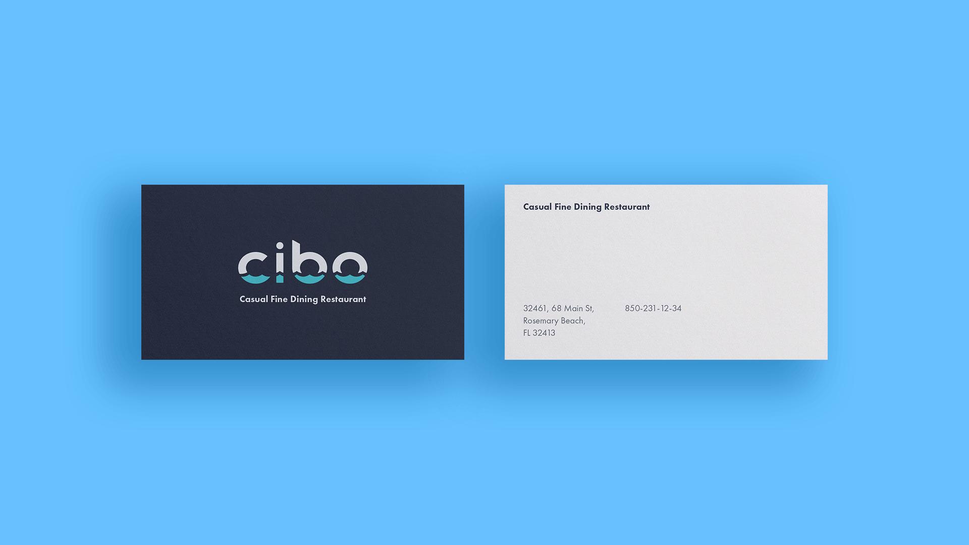 cibo-logo-design